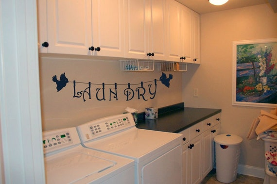 Laundry Line - Vinyl Wall Decor