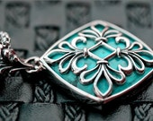 Marian -Turquoise Sterling Silver Pendant / Necklace