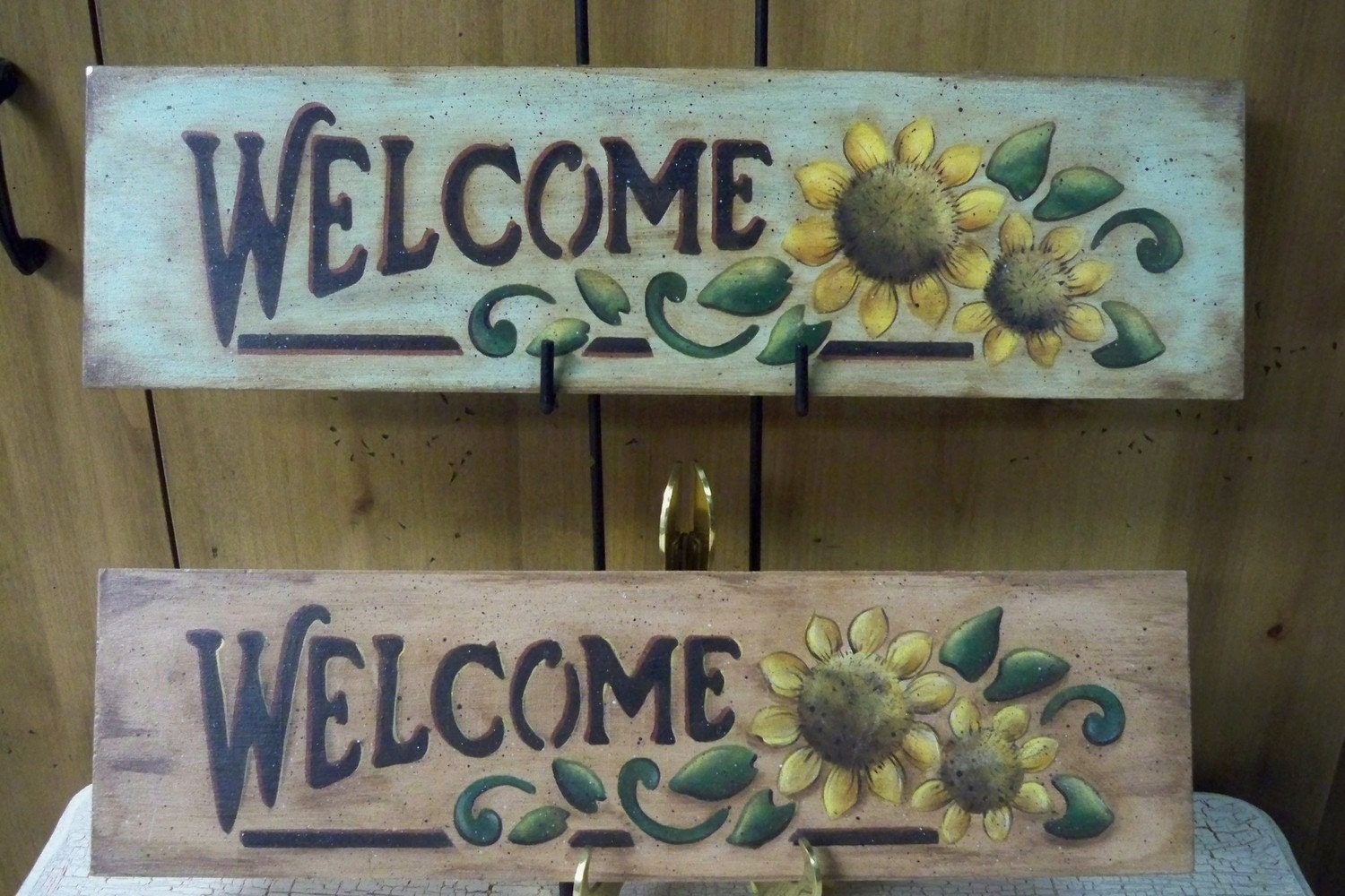 Wooden Welcome Sunflower Sign Hand Painted. Door Hanger Signs. Breakout Edu Signs. Shaped Signs Of Stroke. Forklift Signs. Negative Tb Signs. Mthfr Gene Mutation Signs. Cue Card Autism Signs. Physical Attribute Signs