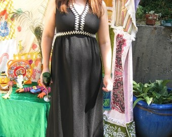 Winter Shadow 60s Gown