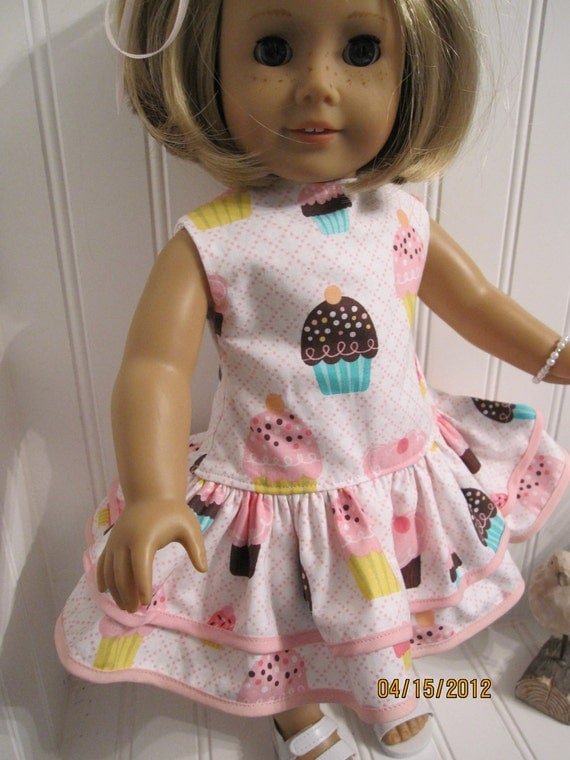 American Girl Doll Dress 1930's Party Dress Set