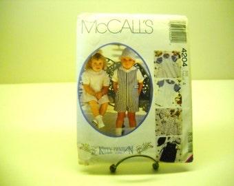 vintage mc call pattern 4204 toddler 4