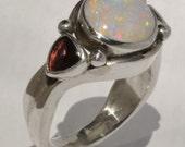 Australian Opal Ring.