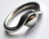 Form Embrace Sterling ring