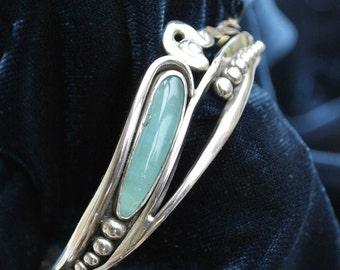 Chrysoprase in Spring Bracelet