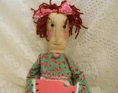 Primitive Rag Doll Miss Melanie STCOFG