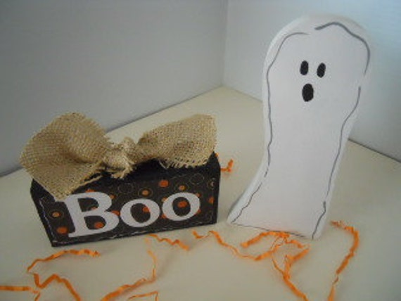 Halloween Ghost, Boo and His Block