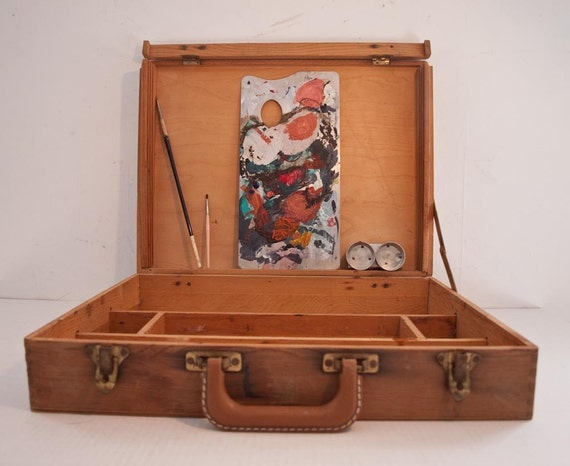 Artist Tool Box Artist Tool Box Wooden