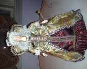 Exquisite Detailed Signed & Numbered Queen Elizabeth Doll