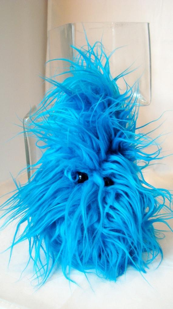 Shaggy Monstah Frazzle - Plush Stuffed Animal Monster