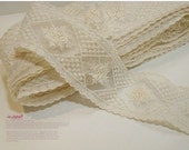 embroidered mesh lace 1yard (width 5cm) 4789