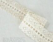 torsion cotton lace by the yard (width 4.5cm) 8687