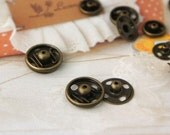 12mm ten pairs of  snap button 31823