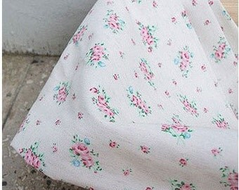wide romantic shabby linen 1yard (59 x 35 inches) 17518