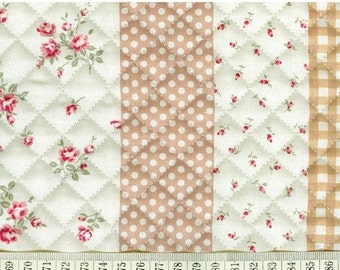 quilted cotton 1yard (43 x 35 inches) 14640