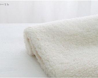 SALE wide soft faux fur 1yard (62 x 36 inches) 14046