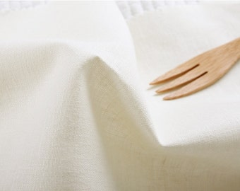 wide natural linen 1yard (55 x 36 inches) 25220 ivory