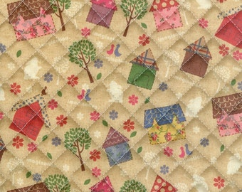 quilted cotton 1yard (43 x 35 inches) 31727