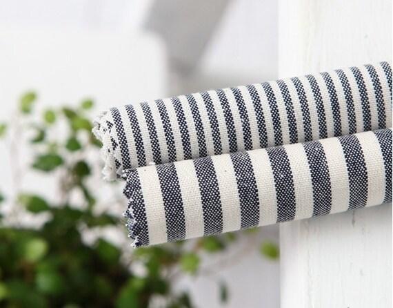 stripe cotton 1yard (44 x 36 inches) 24718 navy