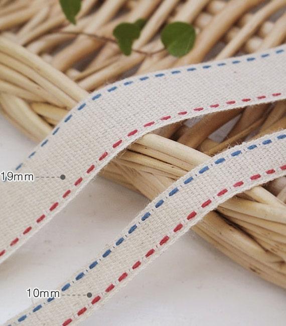 1yard (width 1cm) linen tape 26063-1
