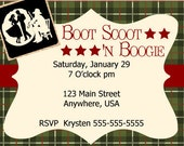 Country Western Party Theme (Boot Scoot 'n Boogy)