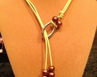 More Double Lariat Necklaces