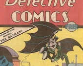 Batman 27 May 1939 Comic Book COLLECTORS Edition Oreo Giveaway reprint. SLIGHT DAMAGE