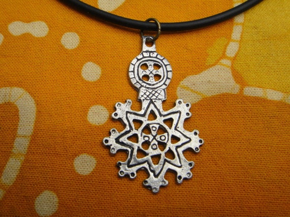 Ethiopian Pendant African Necklace