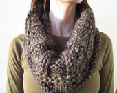 Chunky Knit Cowl - Bronze