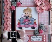 On Sale - You're The One That I Want - Handmade Card