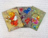 ACEO 3D, set of 3