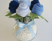Baby Shower Gift - Washcloth Roses - The Jacoby
