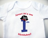 Birthday Onesie - The Captain