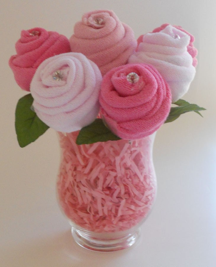 items similar to baby bouquet the blossom baby shower gift