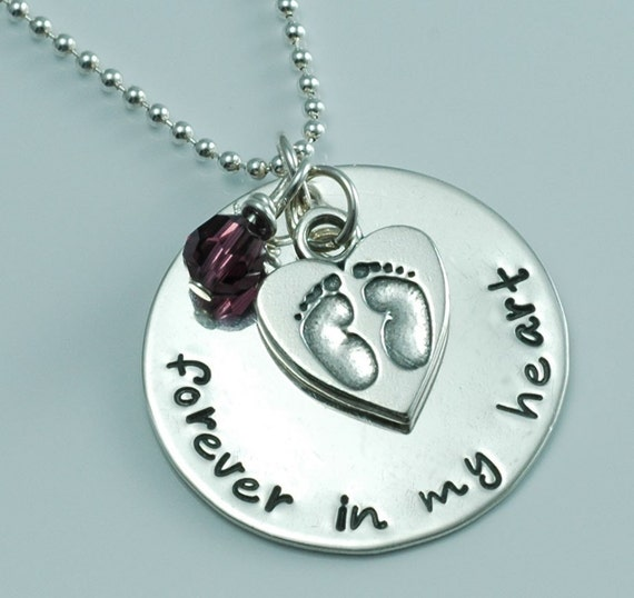 Forever in my heart Memory Pendant