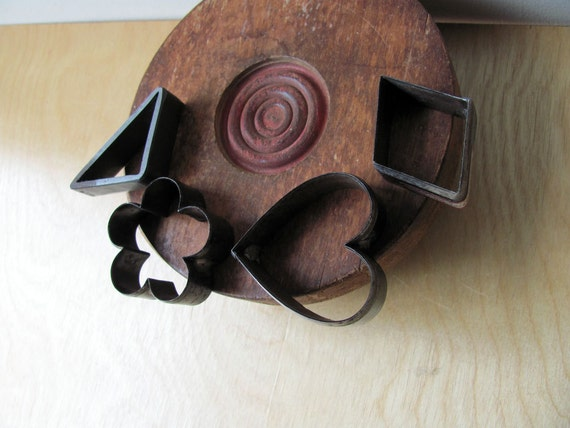 Leather Tools Die Punch Stamping Cutting Steel Heart Flower