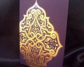 Letterpress Cards - Morocco