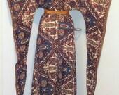 SALE Vintage 70s ETHNIC Gypsy ANGEL sleeves Maxi Dress