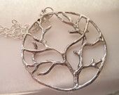 Autumn Tree Branch Necklace