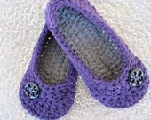 Sale Crochet Womens Slippers, Ladies Slippers, House Shoes, Crochet Slippers, Winter Accessory, Your Size