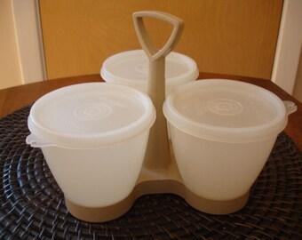 Vintage Tupperware Condiment Caddie