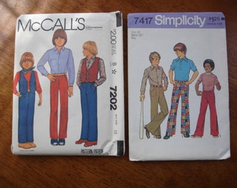 Two Vintage Sewing Patterns