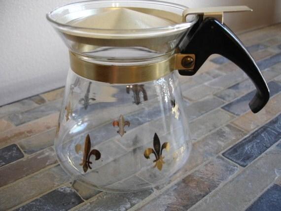 Fantastic Petite Pyrex Coffee Pot