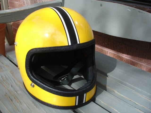 Great Vintage Full Face Motorcycle Helmet
