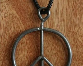 Original Recycled Woodstock Festival 1969 Peace Pendant not Poster