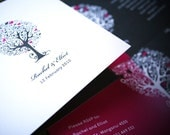 WEDDING INVITATION - blossoming love