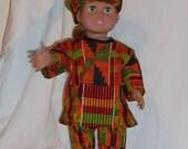"18"" African costume"