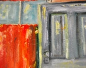 Window and Pantry Door oil painting by Diane Boatright