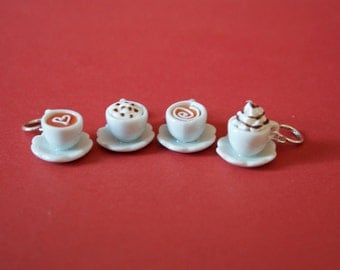 Stitchmarkers - Cappuccino Time - Stitch Markers
