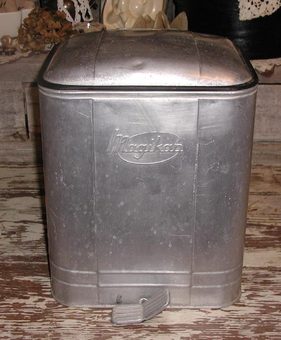 Reynolds aluminum vintage wastebaskets